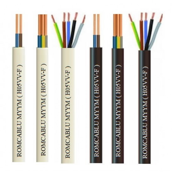 Power cable H05VV-F