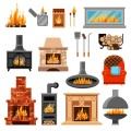 Fireplaces,Stoves