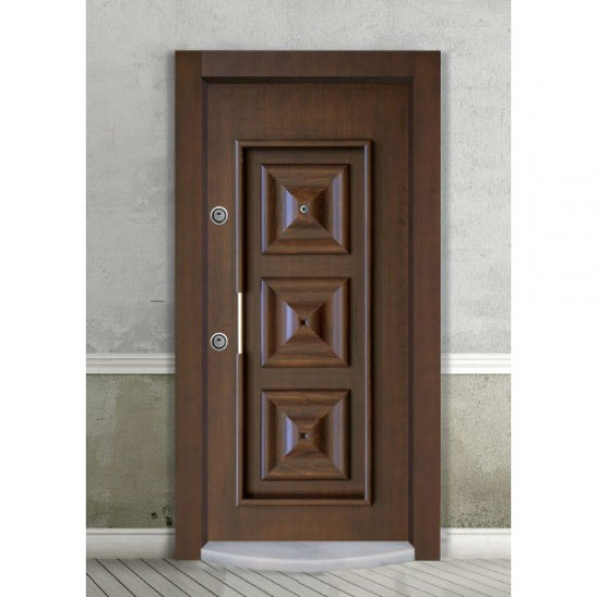 Luxury Embossed Doors - Beech - American Walnut Tree - SCK.100