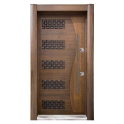 Luxury Embossed Doors - Beech - American Walnut Tree - SCK.101