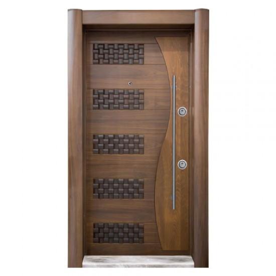 Luxury Embossed Doors - Beech - American Walnut Tree - SCK.101